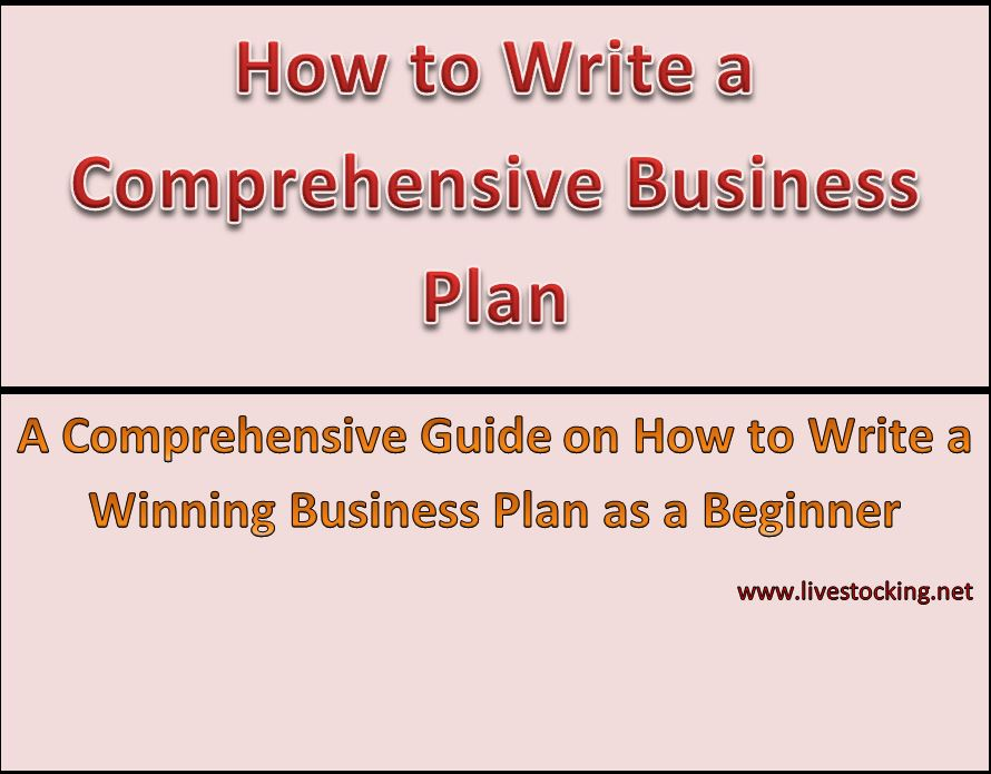 How to Write a Winning Business Plan for your Farm