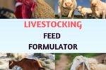 Livestocking Feed Formulation Software